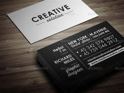 retro business card template 20 premium retro business card template