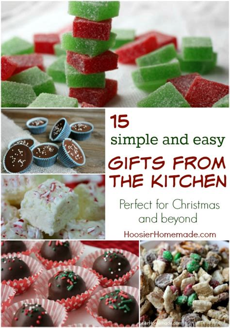 gifts from the kitchen homemade holiday inspiration