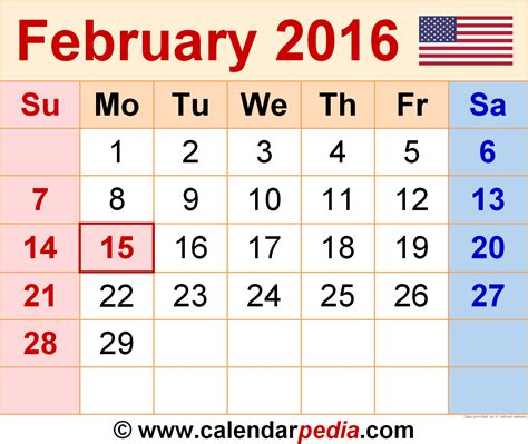 feb week january 2016 calendar printable one page 2017 printable