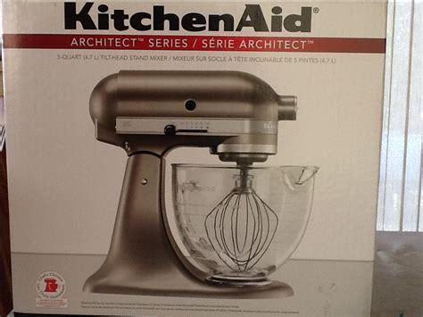 Kitchenaid Architect Mixer by Kitchenaid Architect Series 5 Qt Tilt Stand Mixer