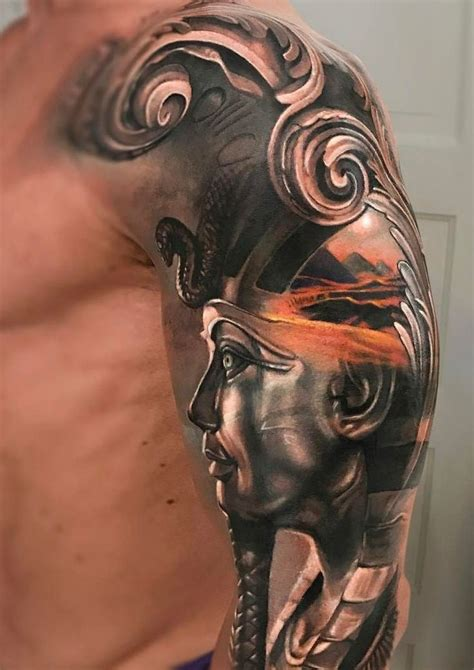pharaoh tattoo 25 best ideas about sleeve on