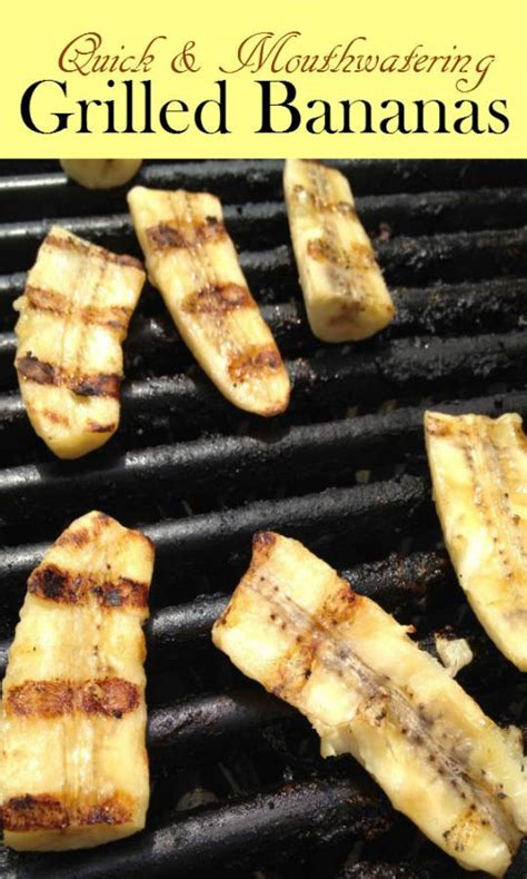 grilled banana dessert bar home grilled bananas a warm dessert for the entire family the budget diet