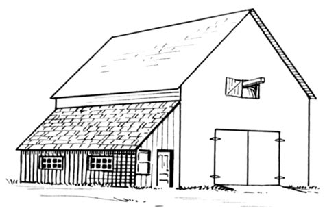 Puzzle Tombol Farm Fence Windmill barn and lean to coloring page free printable coloring pages