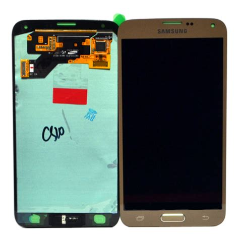 Lcd Neo 5 genuine samsung sm g903f galaxy s5 neo complete lcd and digitizer in gold samsung part no