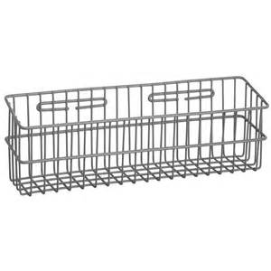 Wall Mounted Storage Baskets R Amp B Wire 2250 Metal Medical Storage Basket Wall Mounted