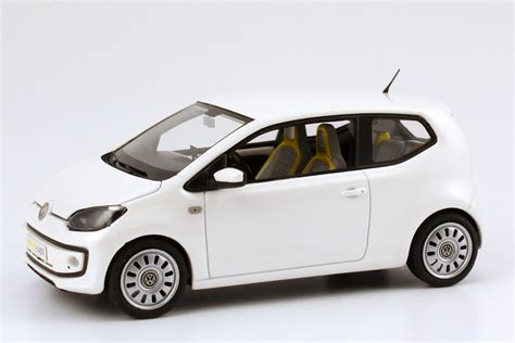 volkswagen up white 1 43 vw study concept car volkswagen eco up white pearl
