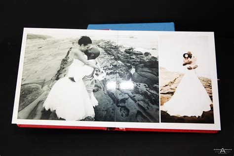 Gorgeous Italian Leather Wedding Albums   AbounaPhoto