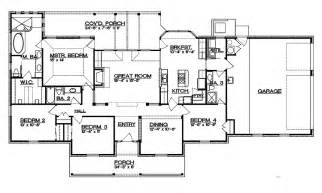 Ranch Floor Plans With Split Bedrooms ranch floor plans with split bedrooms