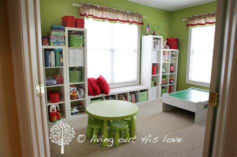 Homeschool Rooms by Living Out His Our Homeschool Room