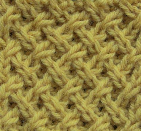 different knit stitches tight lattice stitch the weekly stitch knitting