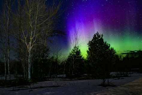 northern lights michigan 2017 the northern lights just appeared in michigan cond 233 nast