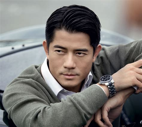 who is the asian man in the dare to be different cadillac commercials aaron kwok the most beautiful man in hong kong men