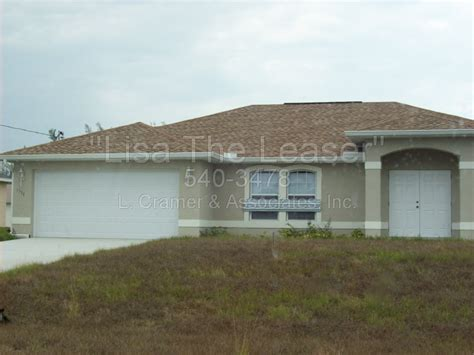 houses for rent in cape coral