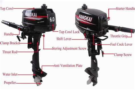boat motors and parts factory price promotion hot brand new hangkai outboard