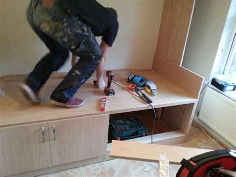 Small Bedroom Storage Ideas Diy bespoke fitted furniture for a box room