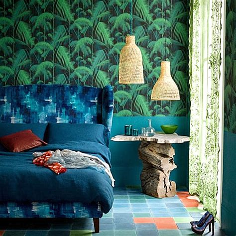 palm tree decor for bedroom stay warm this winter in a tropical bedroom