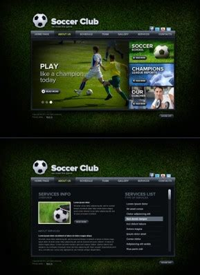 templates bootstrap free sports sport bootstrap templates html5 templates