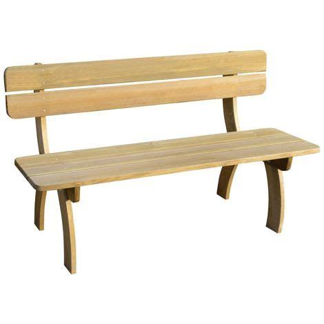panchina in legno da giardino vidaxl panchina da giardino in legno di pino impregnato