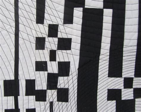 quilt pattern it s all black and white quilts color black and white quilt number 2 it s