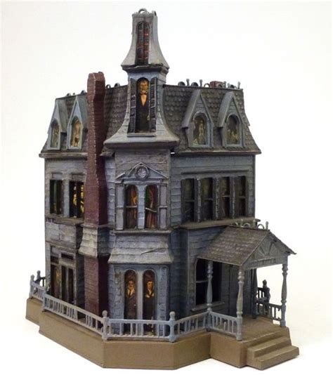 lights for model houses 1965 family haunted house model kit pro