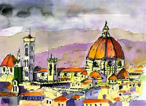 florence the paintings florence cathedral italy painting by ginette callaway