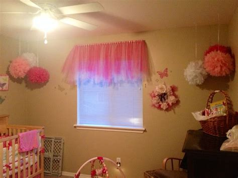 tutu valance tutu curtain valance for little girls room my baby girl