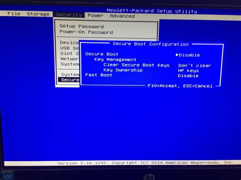 reset bios hp desktop hp19 2113w can t boot from usb hp support forum 5349343