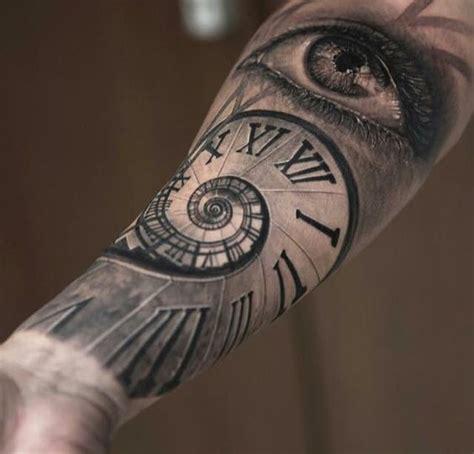 tattoo fixers eye clock clock eye tattoo tatuaje pinterest augen uhr und