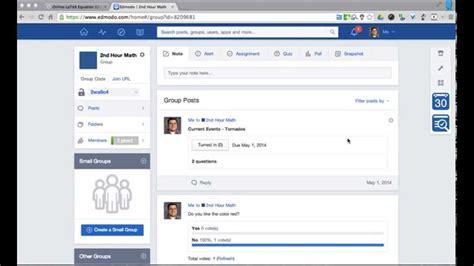 edmodo quiz tutorial edmodo math quiz using latex youtube