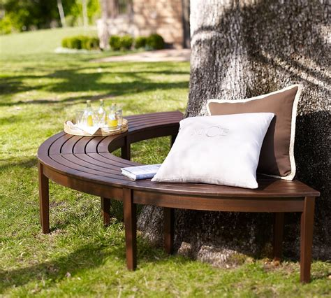 diy half circle bench chesapeake curved picnic bench