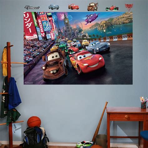 Disney Cars Home Decor 31 Best Images About Race Car Room Ideas On Lightning Mcqueen Wall Decor And Disney