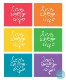 Home Design Ideas Pdf Printable Rainbow Blessing Notes
