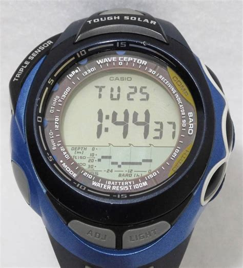 casio sea pathfinder casio sea pathfinder 3047 blue spw 1000 tough sensor