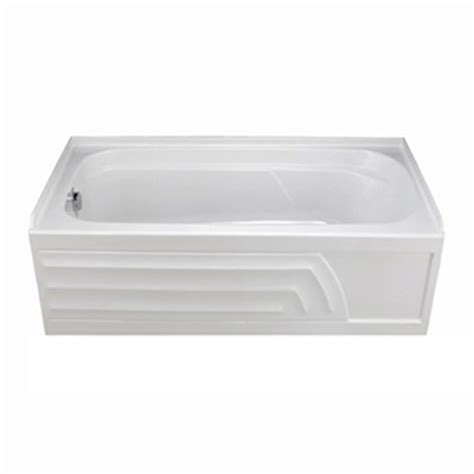 bathtubs with feet american standard colony 5 feet acrylic bathtub with right hand drain in white the