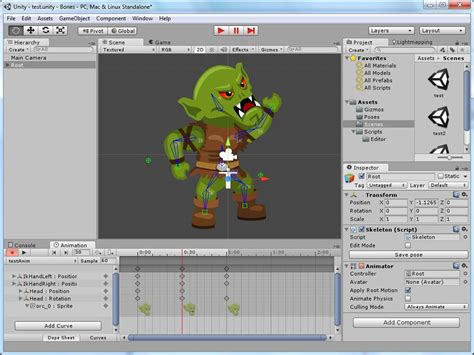 animation tutorial in unity release free unity sprites and bones 2d skeleton
