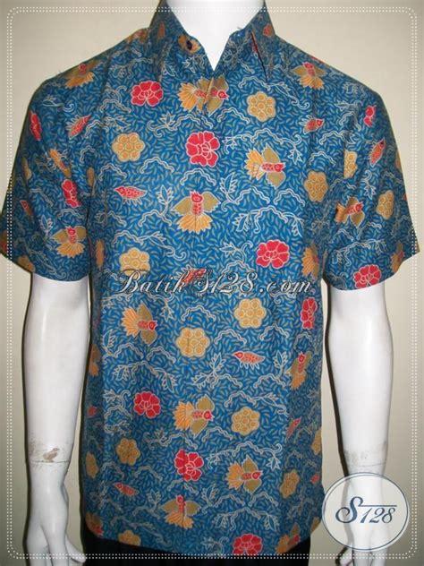 Baju Batik Keren Baju Batik Cowok Keren Murah Motif Burung Cuwiri
