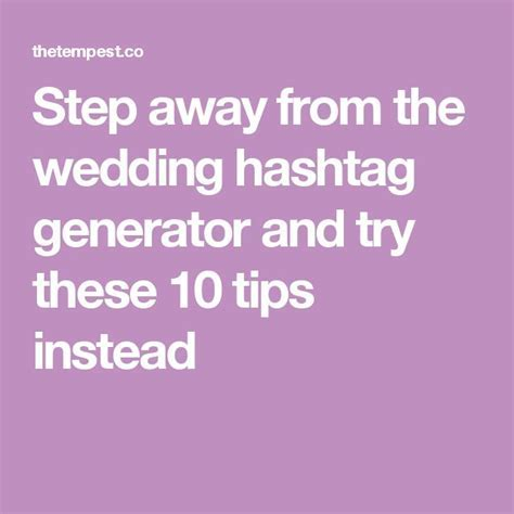 Best 25  Wedding hashtag generator ideas on Pinterest