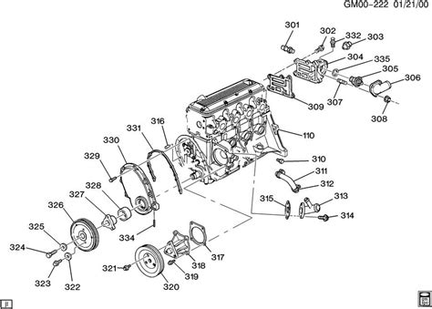 chevy 1996 s10 2 2l engine diagram get free image about