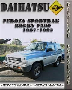 Daihatsu Engine Manual Daihatsu Feroza Manual Images