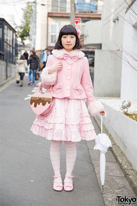 Pretty Wardrobe by Pink Fashion In Harajuku W Angelic Pretty