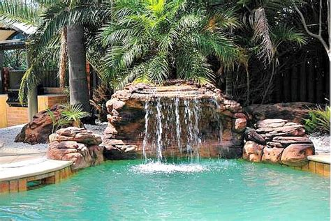 oasis swimming pool waterfalls kits fake rocks fountains
