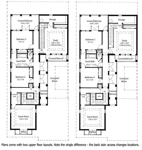 floor plans with courtyards plan 33046zr energy saving courtyard house plan