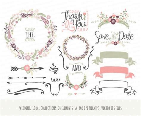 wedding design elements vector 80 best images about mariage faire part livret de messe