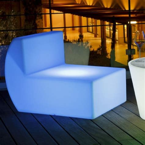 Down Illuminated Outdoor Chair Outdoor Lounge Chairs Illuminated Outdoor Furniture