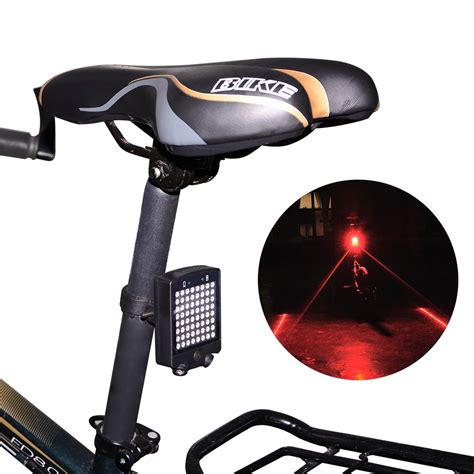 easy on wireless tail lights bicycle bike indicator led rear tail light wireless remote