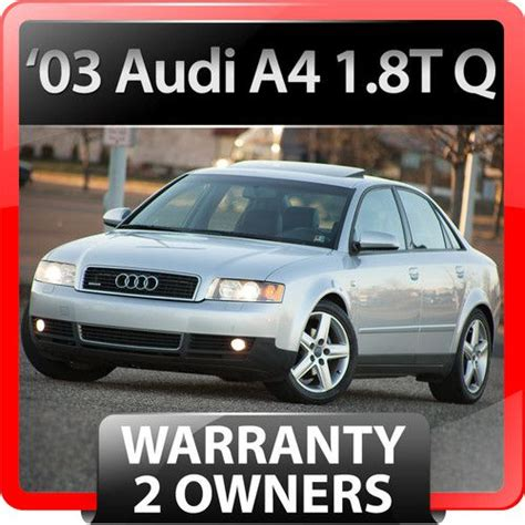 audi a4 2003 owners manual 28 2003 audi a4 quattro owners manual audi audi