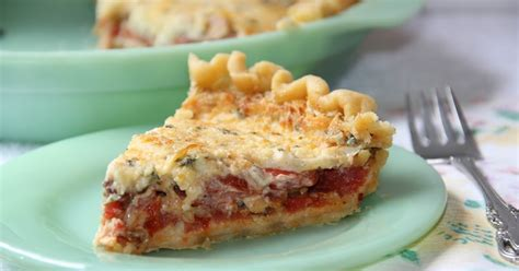 south dish traditional southern new south dish classic southern tomato pie
