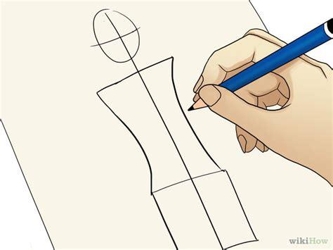 cara menggambar sketsa mode