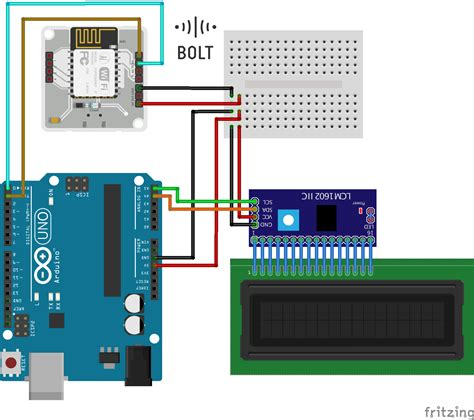 Lcd Bolt iot enabled lcd display arduino project hub