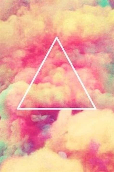 girly hipster wallpaper cloudy hipster triangle iphone wallpaper background